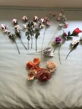 Lot Of Artificial Roses mixed
