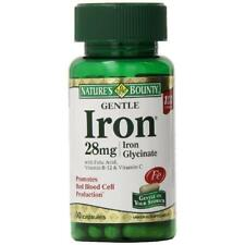 Nature's Bounty Gentle Iron Iron Glycinate 28 mg Caps, 90 ct