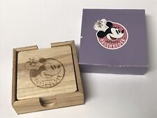 New listing 2019 Epcot Food & Wine Disney Chef Minnie Mouse Coasters Annual Passholder Ap