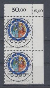 Bund  1155  Gregorianischer Kalender  Paar  KBWZ Tagesstempel Frankfurt ** (mnh)
