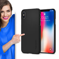Spigen Thin Fit für Apple iPhone X  Schutzhülle Case Cover Schutz Handyhülle