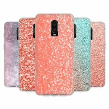 OFFICIAL PLDESIGN SPARKLY CORAL SOFT GEL CASE FOR AMAZON ASUS ONEPLUS