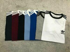 Adidas Originals California Trefoil T Shirt Crew Neck Short Sleeve