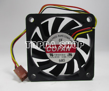 1pc COFAN F-6010HH12B Cooling fan 12V 0.30A 3pin 60*60*10MM #XX