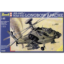Revell AH-64D Longbow Apache helicopter 1:48 Avión Model Kit - 04420