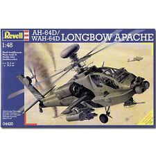 REVELL AH-64D Longbow Apache Elicottero 1:48 AEREO Model Kit - 04420
