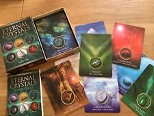 Eternal Crystals Oracle Card Deck. Jade Sky. Divination Chakra, New & Sealed.