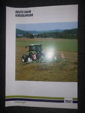 Prospekt Sale Brochure Deutz Fahr Kreisheuer Greenland Traktor Landtechnik Agrar