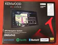 Kenwood Excelon DNX694S DDIN GPS Navigation System Android Auto Apple CarPlay