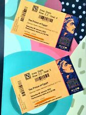 More details for prince of egypt musical theatre tickets x2