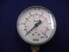MANOMETRO 50mm-Riempito Di Glicerina ingresso inferiore 1.5/% ACC