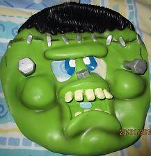 Children's Green Rubber Mask