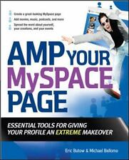 Amp Your MySpace Page Butow, Eric, Bellomo, Michael Paperback