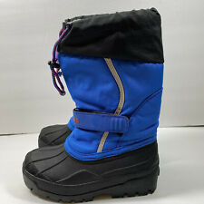 L.L. Bean Toddlers Boys Size 13 NORTHWOODS Winter Snow Waterproof Boots