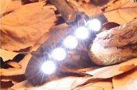 BASEBALL CAP HAT CLIP ON LED LIGHT LAMP FOR FISHING AMPING