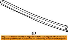 Mercury FORD OEM 02-05 Mountaineer Front Bumper-Reinforcement 1L2Z17859BB
