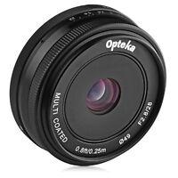 Opteka 28mm f2.8 Lens for Fuji X-Pro2 X-T2 X-T1 X-T20 X-T10 X-E2S X-E3 X-E2 X-A3