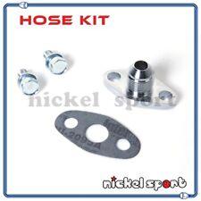 Garrett GT25 GT28 GT30 GT35 / IHI RHF5 Turbo Oil Drain Flange Gasket Bolt Kit
