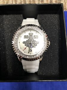 Tampa Bay Lightning 2020 Stanley Cup Champions Women's Watch Sparkle