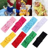 Cute Kids Baby Girl Toddler Turban Knot Headband Hair Band Headwear Accessory LE