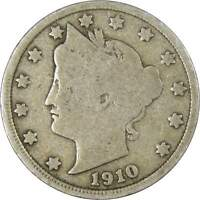 Liberty Head V Nickel 5 Cent Piece G Good Random Date 5c US Coin Collectible