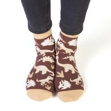 444021 FEET SPEAKS DINOSAUR BONE TIRED LONG SOCKS GREAT SOLES ONE SIZE FITS MOST