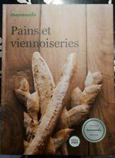"""Livre recette Thermomix  """" PAINS ET VIENNOISERIES """"  neuf"""