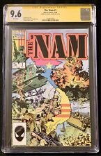 The 'Nam #1 (1986) CGC 9.6 signed Michael Golden Cover