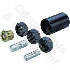 Grey Pneumatic 2413 Other Drive Budd Inner Cap and Stud Remover Set - FREE SHIP!