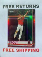 2019 Topps Chrome Pink Retail Refractor #200 Mike Trout Los Angeles Angels MLB
