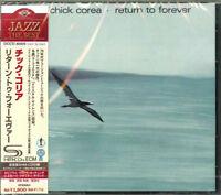 CHICK COREA-RETURN TO FOREVER-JAPAN SHM-CD D50
