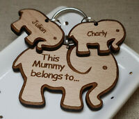 PERSONALISED GIFTS FOR HER MOTHERS DAY GIFT BIRTHDAY MUMMY NAN ELEPHANT KEYRING