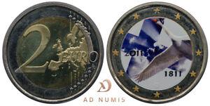 2€ euros Finlande 2011 - Colorisée (200ème anniversaire Banque de Finlande)