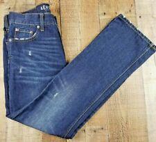 Aeropostale Women's Boot Cut Distressed Dark Wash Jean size 29x30