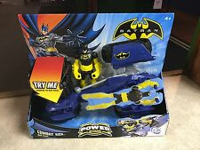 Batman Power Attack Play Set COMBAT KICK BAT-TANK W/ Action Figure Tank MIB