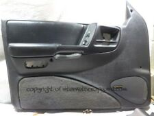 Jeep Grand Cherokee ZJ ZG 93-99 4.0 LH NSF door card + infinity logo speaker cov