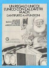 QUATTROR984-PUBBLICITA'/ADVERTISING-1984- GEMINI ELETTRONICA (versione C)