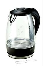NEW KITCHEN-ART Electric Glass Kettle 1.8 L  Stainless-steel, Glass.