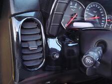 05-13 Corvette C6 Z06 ZO6 ZR1 GS Carbon Fiber HydroGraphics Gauge Cluster 08 CF