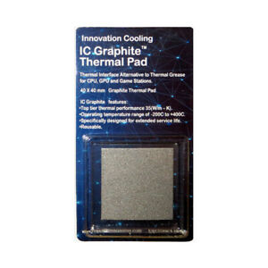 Innovation Cooling IC Graphite Thermal Pad (40x40mm 2-Pack)