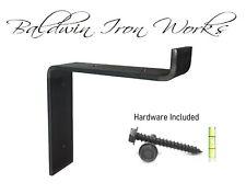 Metal Shelf Bracket, Rustic, Industrial, Modern, Farm Style, 3/4