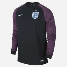 Nike England 2016/ 17 LS GK Stadium Home Shirt Black/ Fuschia 724606 010 Size XL