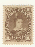 Newfoundland Stamp Scott # 43 1-Cent Prince Edward MH
