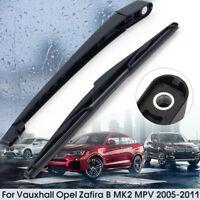 Windshield Window Rear Wiper Arm & Blade For VAUXHALL OPEL ZAFIRA B MK 2 MPV