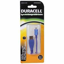 Duracell Universal Data Sync & Charge Cable - Blue
