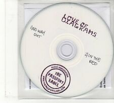 (FU903) Love Of Diagrams, No Way Out / In The Red - DJ CD