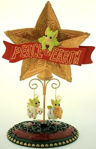 Collectible World Studios-Pocket Dragons *Peace & Earth* Ltd Ed Retired- boxed