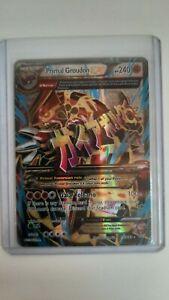 Mega PRIMAL GROUDON EX 151/160 XY Full Art Ultra Rare Pokemon Primal Clash NM