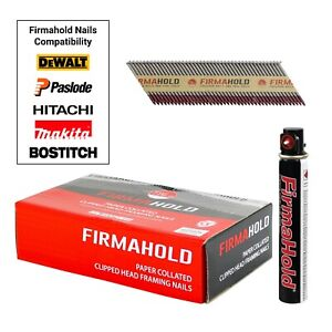 Firmahold Stainless Steel Nails Ringshank Framing 1st Fix Nails