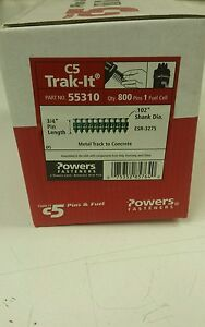 "POWERS FASTENERS C5 TRAK-IT 3/4"" PIN 55310"